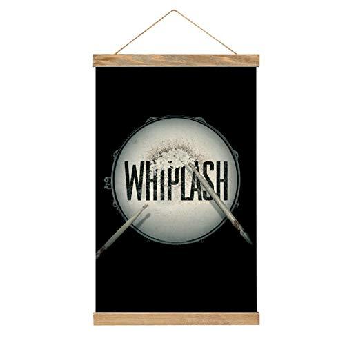 HirrWill hohe Qualität Wandbilder Deko Poster, Whiplash (5), Poster Wandbild mit Rahmenzubehör, fertig zum Aufhängen für die Heimdekoration -13.1 '' × 20.4 ''