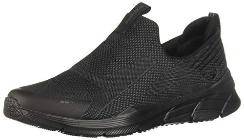 Skechers Sport Equalizer 4.0-Baylock Men's Slip On 10.5 D(M) US Black-Black