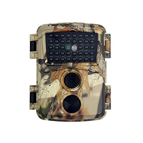 Cámara de Caza 12MP 1080P con Diseño Impermeable,38 sensores Infrarrojos,Gran Angular de 60°,Cámara de Fototrampeo para Seguimiento Cinegético de Fauna