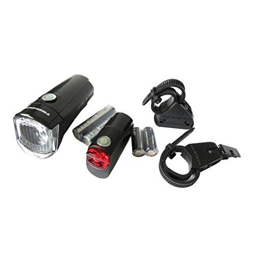 Trelock Unisex– Erwachsene LED-Batterie-Leuchte-2022100905 LED-Batterie-Leuchte, Schwarz, One Size