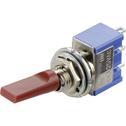 MIYAMA - Interruptor de Palanca 2 x ON/Off/ON 700991 250V/AC 3A Permanente / 0/Permanente 1 Unidad