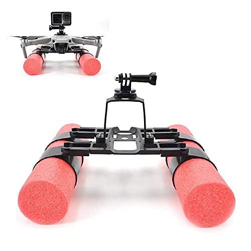HJRBM Compatibile con Mavic Air 2 Drone Galleggiante Supporto Carrello di atterraggio Galleggiabilità Staffa per Bastone Kit di addestramento per Supporto estensore per Aumentare