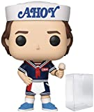 Funko Stranger Things - Scoops Ahoy Steve Harrington Pop! Vinyl Figure (Includes Compatible Pop Box Protector Case)