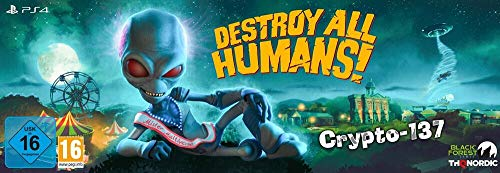 Destroy All Humans! Crypto-137 Edition - Collector's - PlayStation 4
