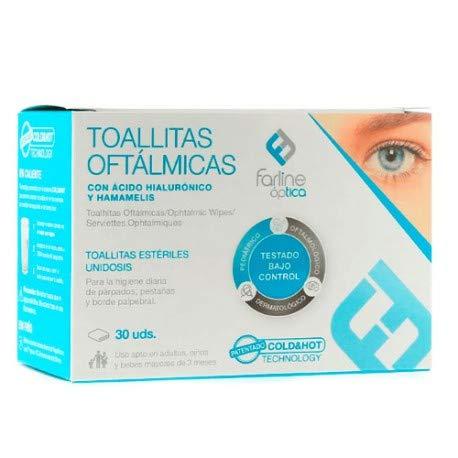 Farline Optica Toallitas Oftalmicas 30 uds