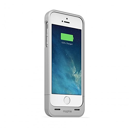 mophie juice pack Helium for iPhone 5/5s/5se (1,500mAh) - Silver