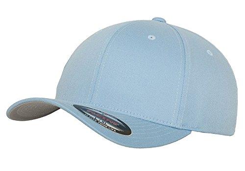 Flexfit Wooly Combed Gorra pequeña / mediana, azul alquitrán