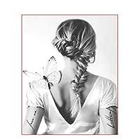 DIY 数字 油絵 塗り絵 キット 大人 子ども 塗り絵 女の子の髪 デジタル油絵 手塗り 数字キットによる絵画 絵かき インテリア 壁飾り ホームデコレーション 40x50cm(額縁なし)