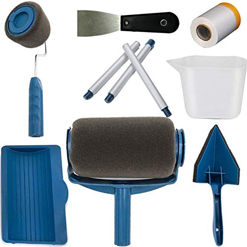 Paint Roller Kit,Paint Runner Pro Roller Brush Handle Tool,Simply Pour and Paint to Transform Any Room in Just Minutes