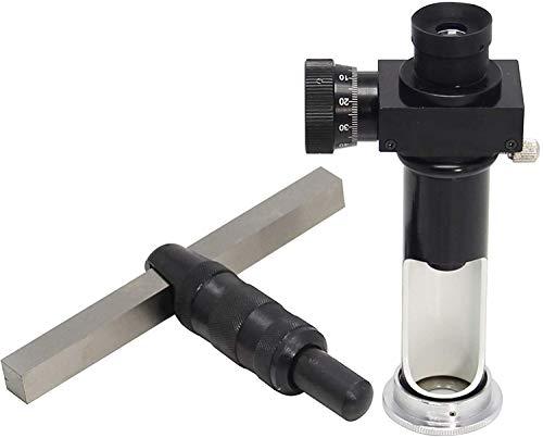 BAOSHISHAN Portable Hammer Hitting Brinell Hardness Tester Meter with Readout Microscope + 5 Brinell Hard Test Blocks