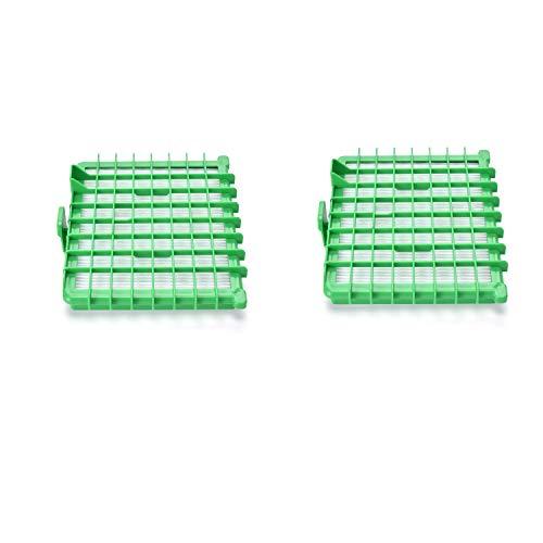 Paquet de 2 filtres Hepa de rechange pour Rowenta ZR002901 Silence Force, non compatible RO5745EA - JZROME