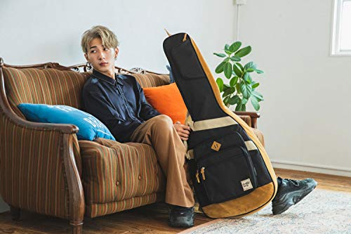 "Ibanez""個性と遊び心""がコンセプトのエレキギター用バッグ保護クッション装備(ブラック)IGB541-BK"