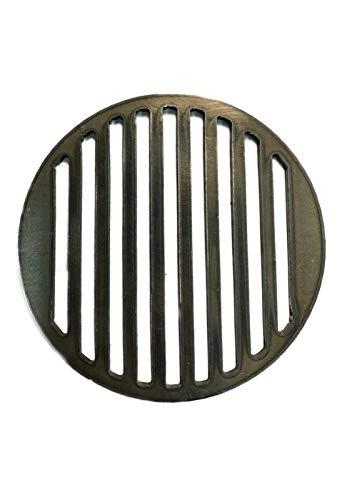 A. Weyck Tools Grill Einsatz Ø 20cm für Feuerplatte mit Halterung BBQ Plancha 06