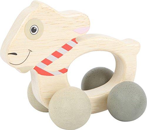 Small foot baby- Jouet d'Éveil-Ludwig sur roulettes, 10654