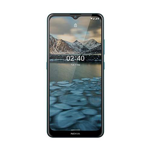 "Nokia 2.4 Smartphone 4G Dual Sim, Display 6.5"" HD+, 64GB, 3G"