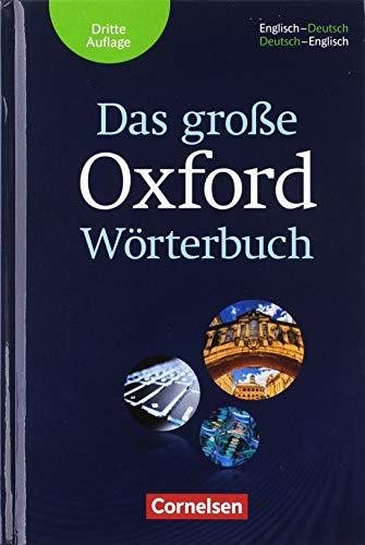 Das große Oxford Wörterbuch - Third Edition: B1-C1 - Wörterbuch mit beigelegtem Exam Trainer: Englisch-Deutsch/Deutsch-Englisch