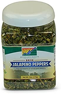 Mother Earth Products Dried Jalapeno Peppers, 6 oz Jar