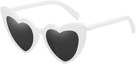 bien fuera x color rápido ventas al por mayor Amazon.es: gafas corazon - Blanco