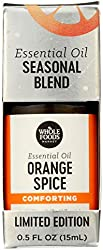 Whole Foods Market, Limited Edition Aromatherapy Essential Oil Blend, Comforting Orange Spice, 0.5 F