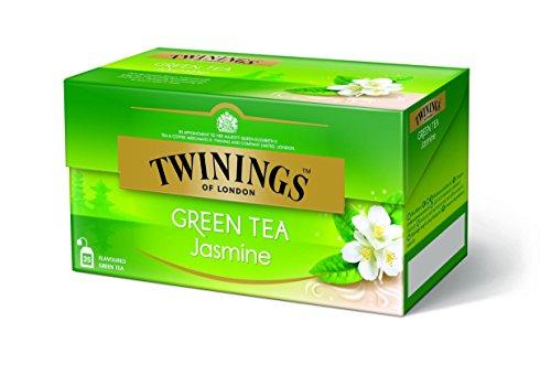 Twinings of London Jazmín Té Verde 25 bolsas de té
