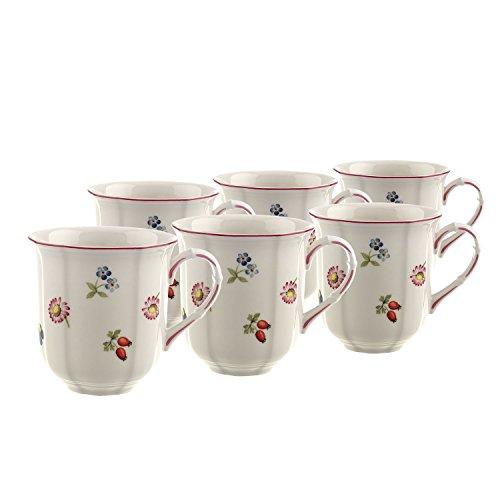 Villeroy & Boch 10-2395-4870 Tasse à café, Porcelaine, blanc, 32,2 x 21,5 x 11,7 cm