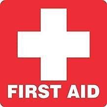 StickerTalk First Aid Vinyl Sticker, 5 inches by 5 inches