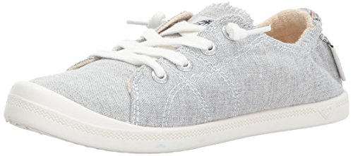 Roxy Women's Rory Slip On Sneaker, Grey Ash, 8