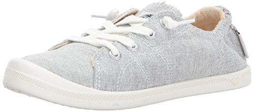 Roxy Women's Rory Slip On Sneaker Shoe, Grey Ash, 6