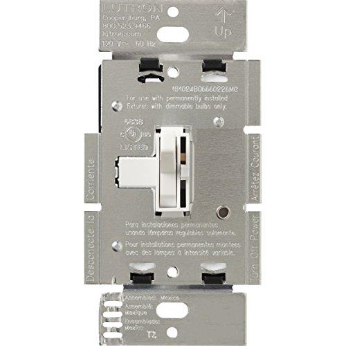 Lutron AY-103P-WH Ariadni 1000-watt 3-Way Dimmer, White