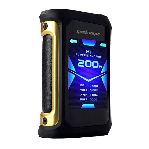 GeekVape Aegis X Box Mod 200 W, Riccardo e-Zigarette - Akkuträger, gold/black