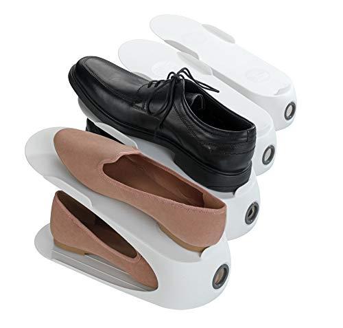 WENKO Schuhhalter Weiß