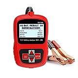 WJTMY BST200 Auto Battery Tester Multi Idiomas 12V 1100CCA Analizador de baterías Automotriz Scanner Herramienta de diagnóstico de automóviles