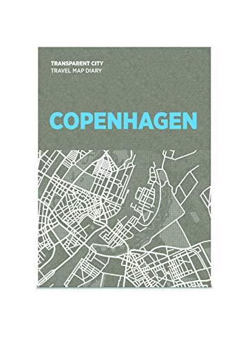 Transparent City Map - Kopenhagen