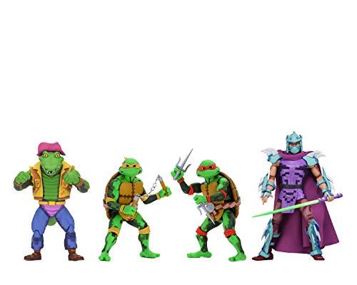 """NECA Teenage Mutant Ninja Turtles: Turtles in Time 7"""" Scale Figures Series 2 – Bundle"""