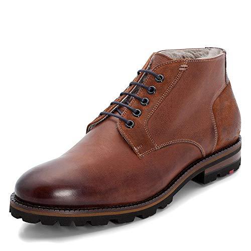 LLOYD Herren Desert Boots Homer, Männer Stiefeletten,Stiefel,Halbstiefel,Schnürboots,Bootie,gefüttert,Winterstiefel,Kenia/Cigar,7.5 UK / 41 EU
