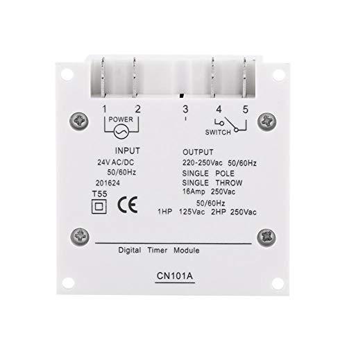 Temporizador de luz, Temporizador de luz, Interruptor de temporizador, Temporizador de pared para ventiladores para lámparas de calle Televisión Radio(24V)