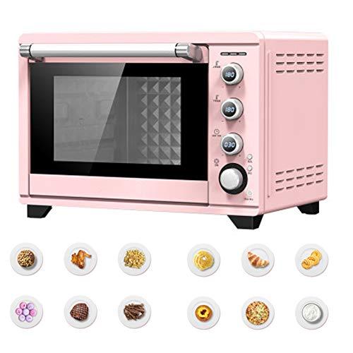 Digitale Ofen, 38 Liter, 1800 Watt, Solo Mikrowelle Mit Funktion Abtauen, Stilvolles Design - Pink