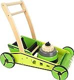 Bavaria Home Style Collection - Lauflernwagen aus Holz Spielzeug Rasenmäher - Höhe verstellbar -...