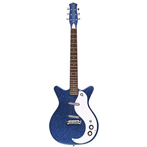 Danelectro 59M NOS+ Metalflake E-Gitarre (Deep Blue Metalflake)