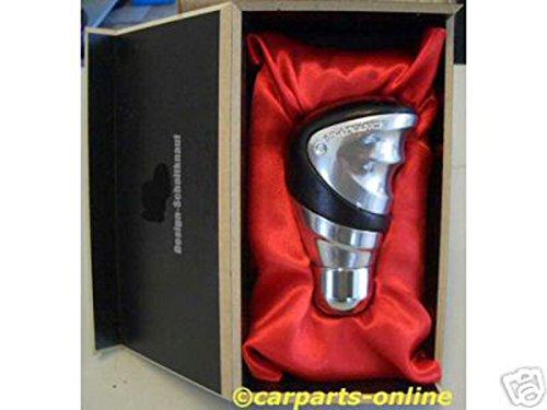 Carparts-Online 11160 Sport Schaltknauf Exklusive Line Alu/Leder hochwertig