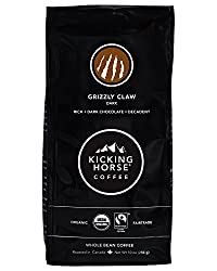 best coffee, kicking horse grizzly claw coffee