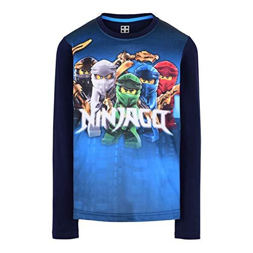 LEGO Ninjago Longsleeve Shirt Camiseta, 590, 128 para Niños