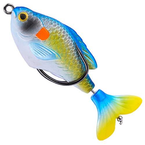 JBFZDS 1 Unids Suave Cebo Pesca Señuelos De Pesca 75mm / 8.5g Cebo Artificial Wobbler Soft Les Jig Minnow Crankbait Perca Blackfish Pesca Tackle YFYUER (Color : 6)