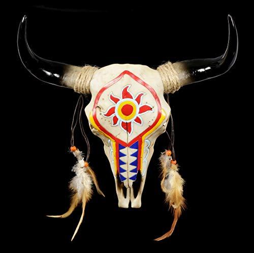 Indianer Bilderrahmen mit Bisons Wilder Westen Western Deko