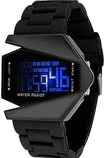 New Raiyaraj Embroidery Digital Black Dial Men's Watch