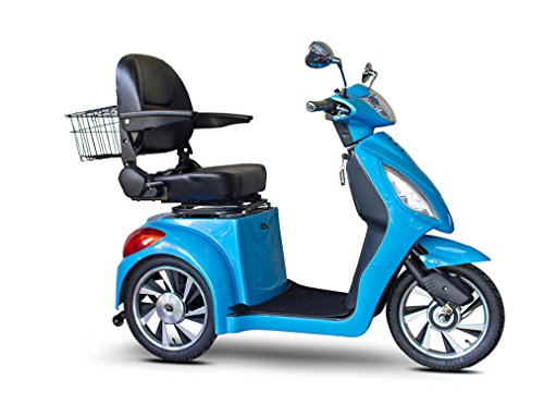 Learn More About E-Wheels Jellybean Collection Electric Mobility Scooter - Bright Blue