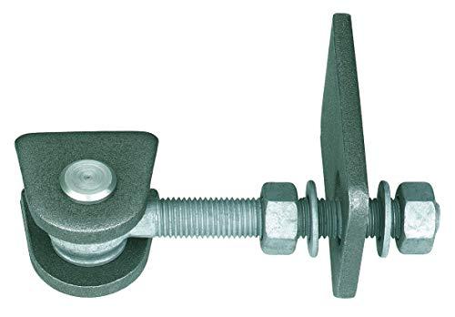GAH-Alberts 411060 Torband | für 180° Öffnung | kurze Ausführung | feuerverzinkte Schrauben und Muttern, Bolzen und Splint aus Edelstahl | Gewinde M16