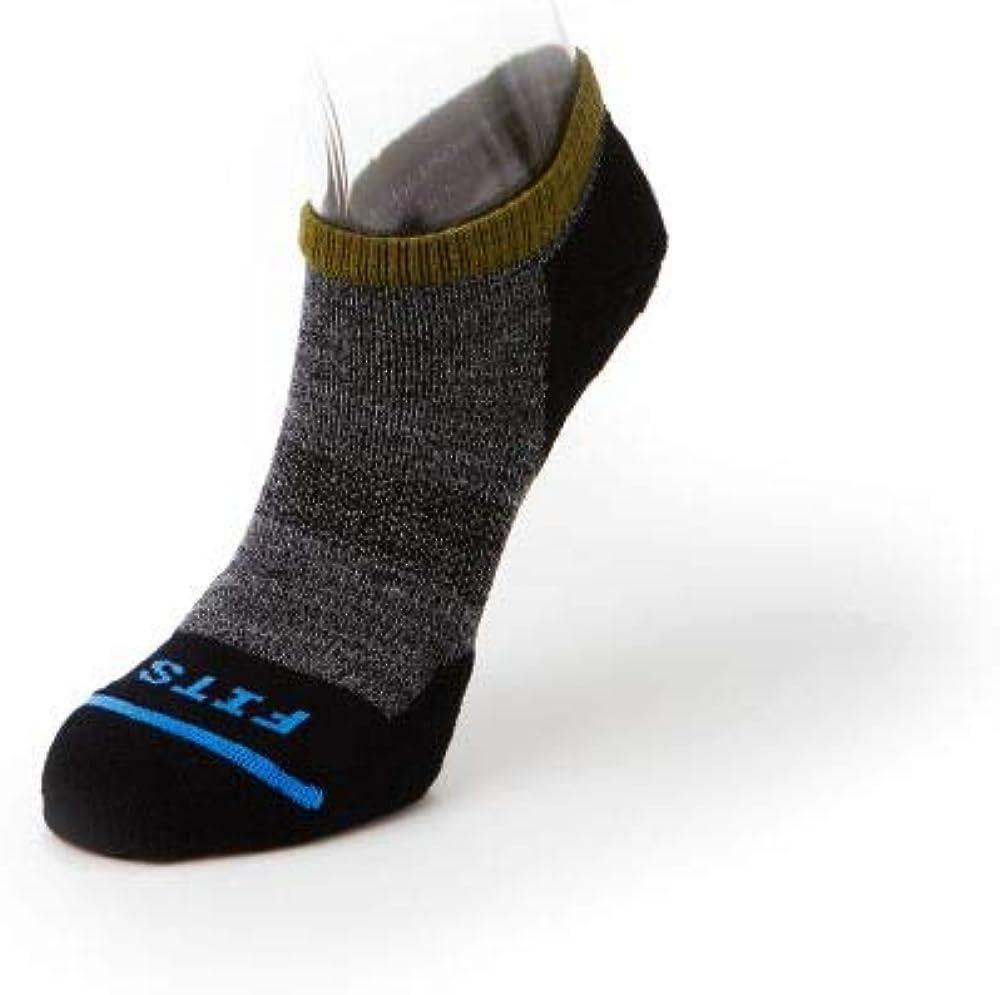 FITS Micro Light Runner – Low Socks, Coal, Small