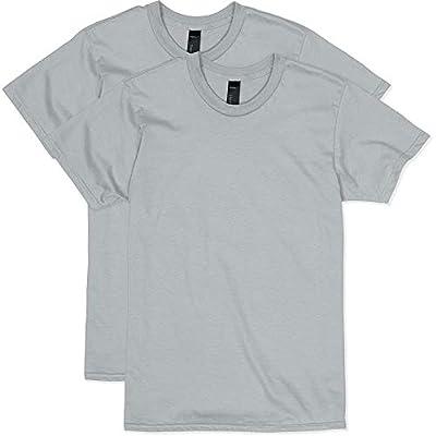 Hanes Men's Nano Premium Cotton T-Shirt (Pack of 2), Light Steel, 3X-Large from Hanes Men's Athletic Child Code