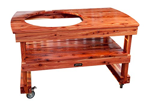 JJGeorge Table for (Extra Large) Big Green Egg...